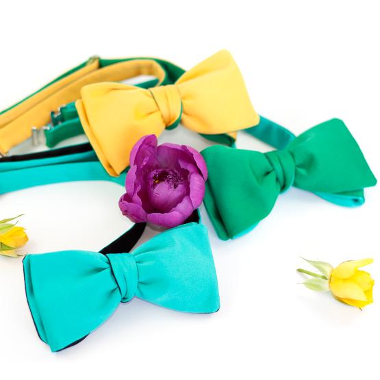 Papion Self-Tie Turquoise