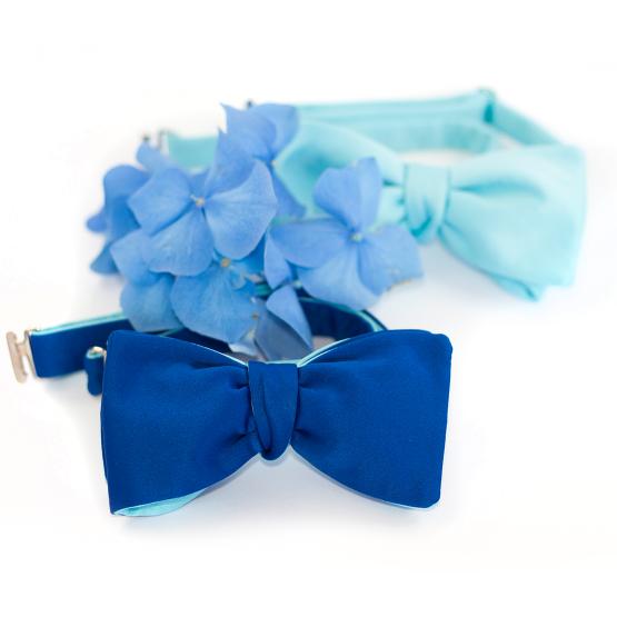 Papion Self-Tie Snorkel Blue