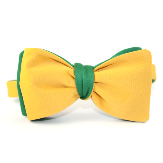 Papion Self-Tie Yellow - Papioane Self-Tie